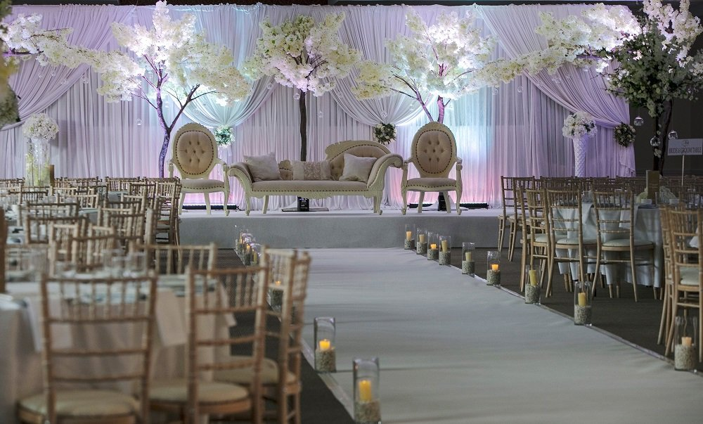 Asian Wedding Set Up