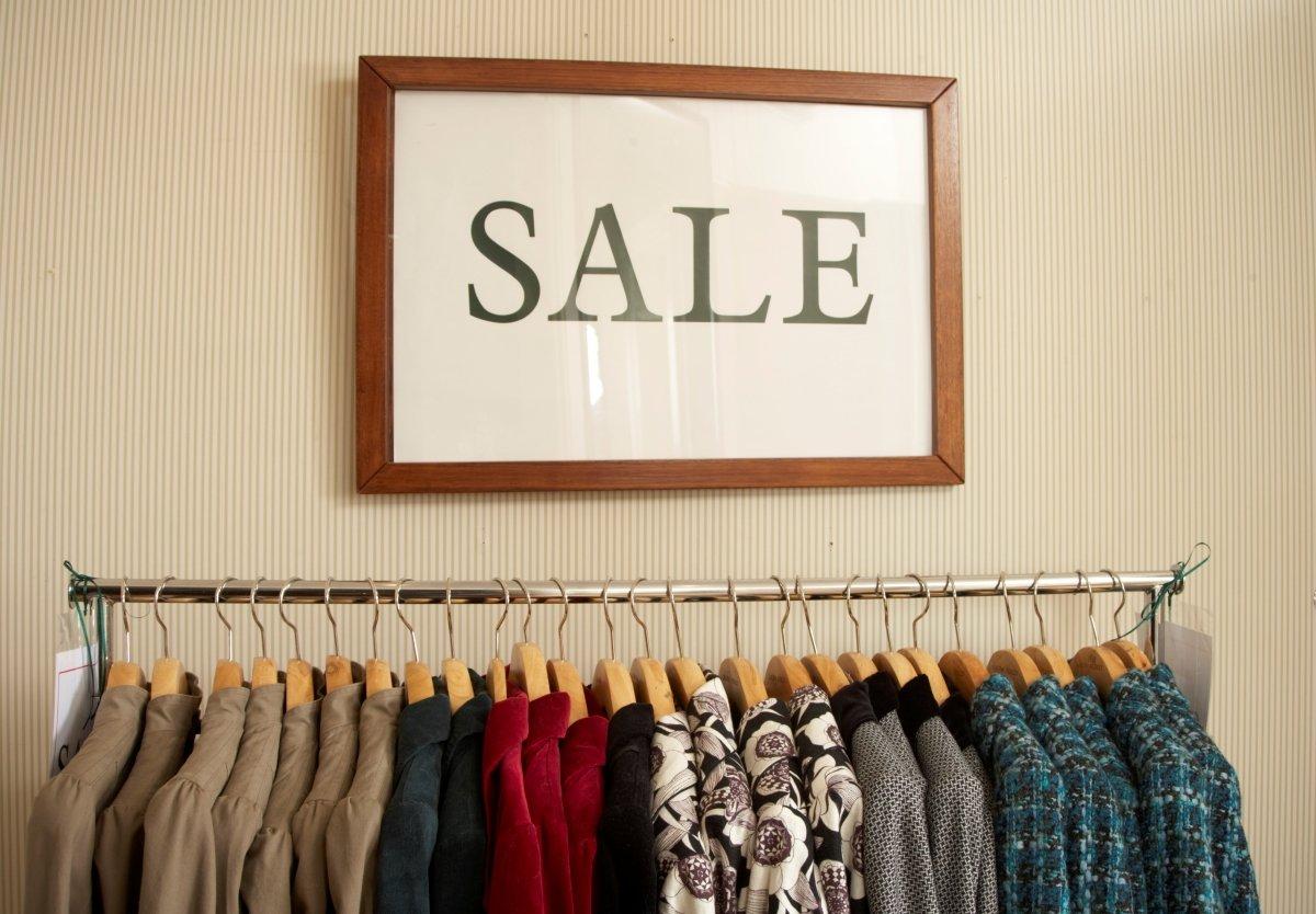 Vintage clothing sale Harrogate
