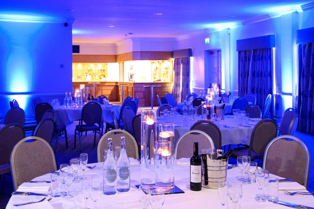 Calder Room Pavilions of Harrogate Dinner Setup