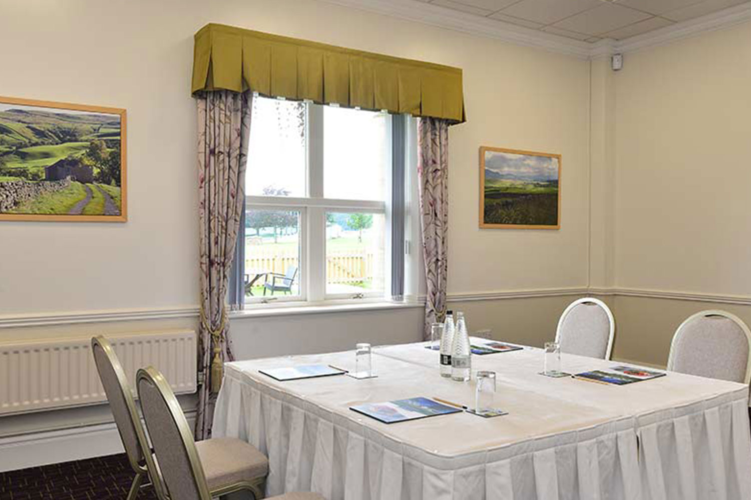 Fewston room Pavilions of Harrogate
